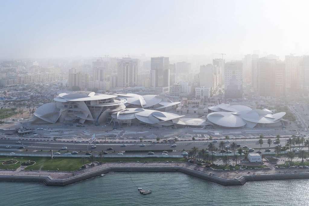 Le nouveau Musée national du Qatar sera inauguré en mars 2019. © Jean Nouvel, Facebook