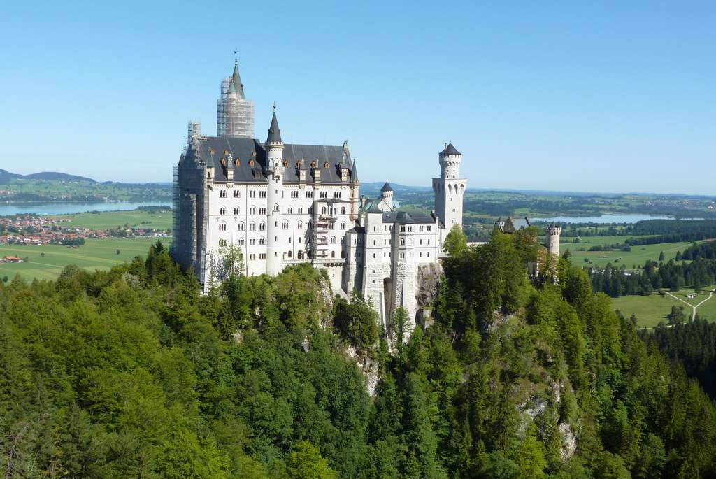 Le château de Neuschwanstein en Bavière. © Paula Funnell, Flickr