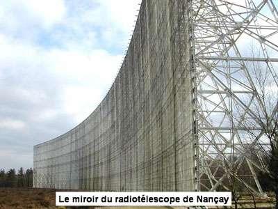 le radiotélescope de Nançay est utilisé pour l'astronomie et l'astrophysique. Les chercheurs tentent toujours de recréer la vie en laboratoire. © DR