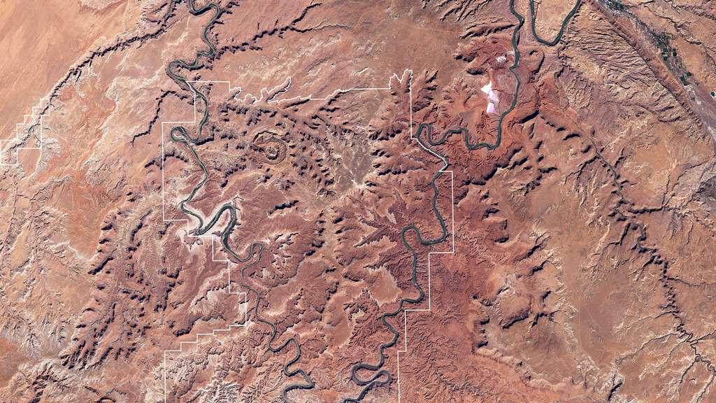 Le parc national de Canyonlands, dans l'Utah