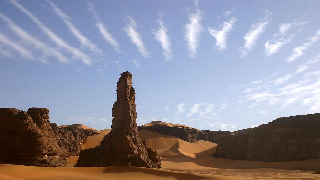 Les cirrocumulus, des nuages blancs et fins
