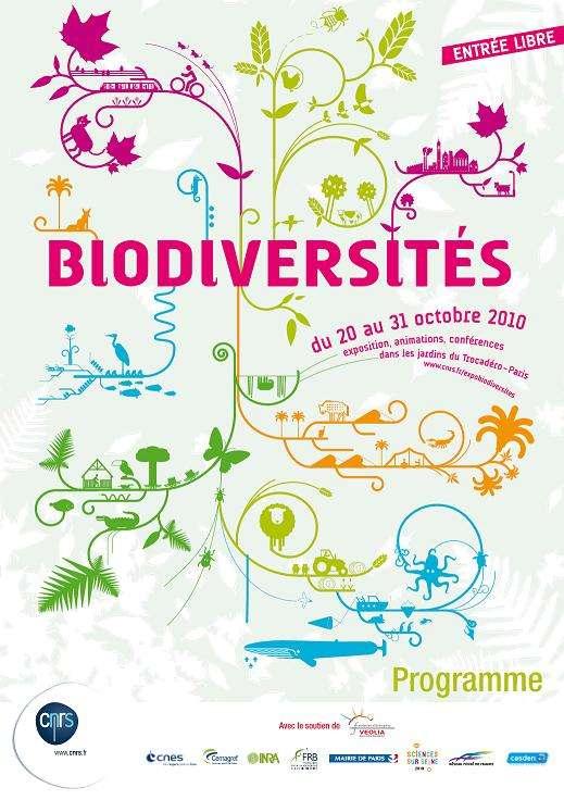 La biodiversité est à l'honneur pour cette 19e édition de la Fête de la science. Les jardins du Trocadéro accueilleront le public gratuitement du 20 au 31 octobre 2010. © CNRS