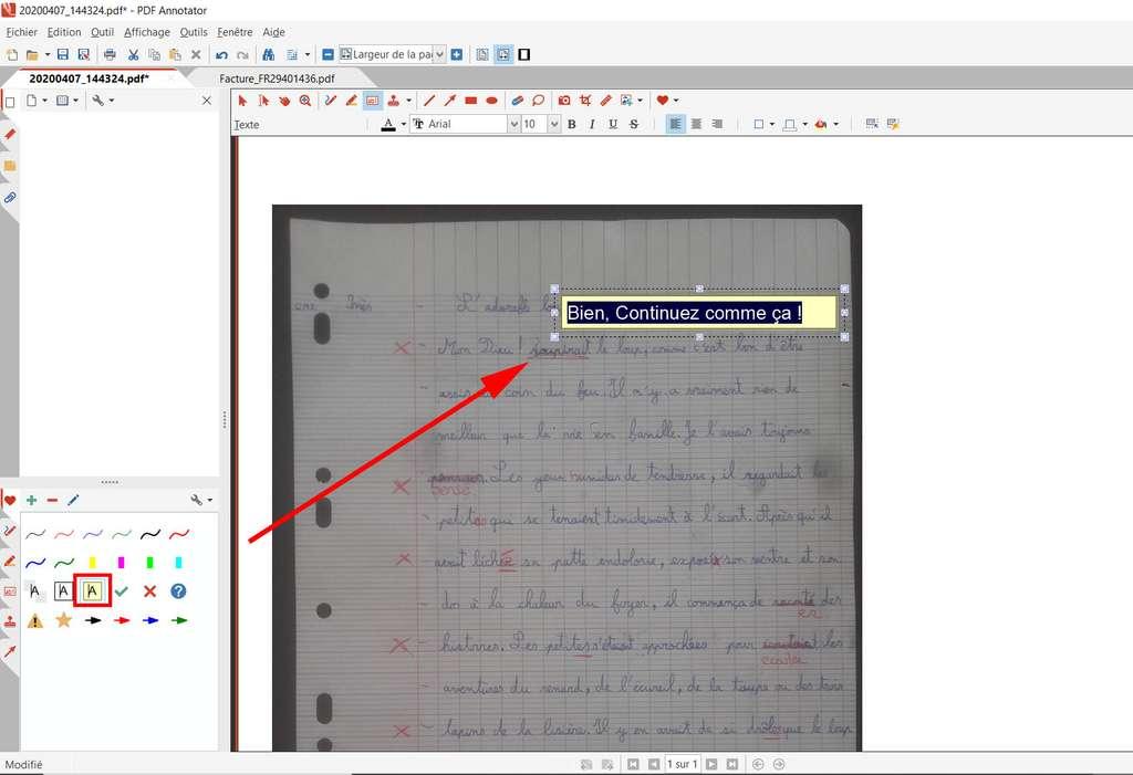 Ajouter des annotations avec PDF Annotator © GRAHL software design
