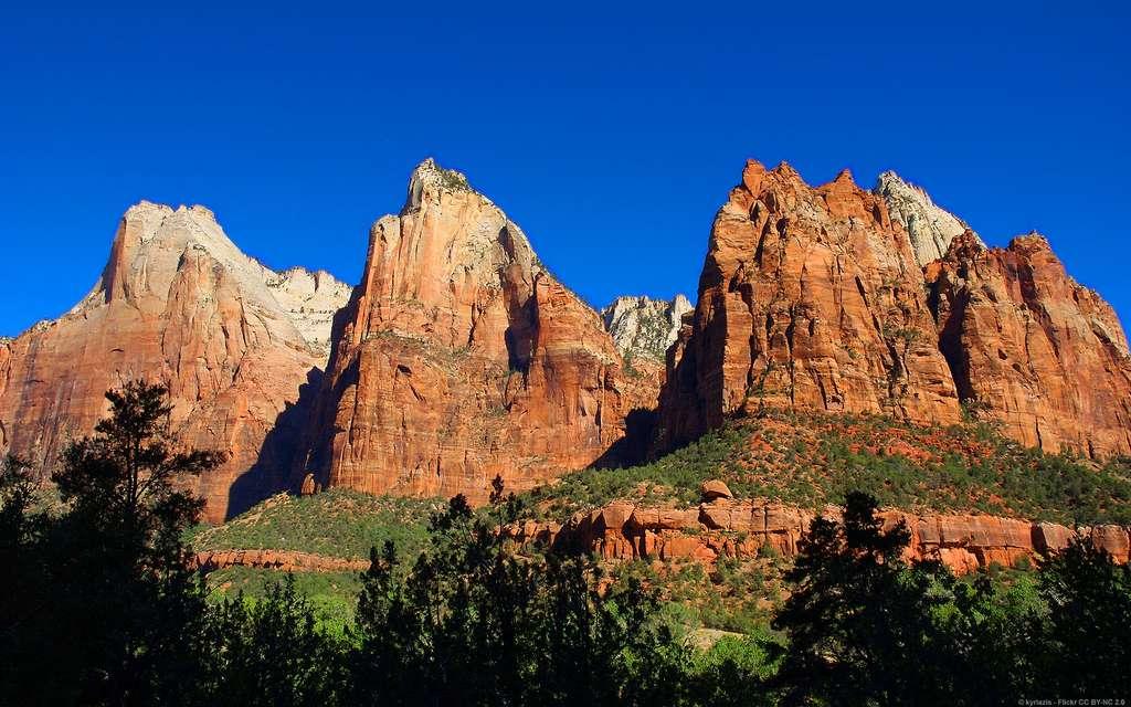 Le parc national de Zion, dans l'Utah