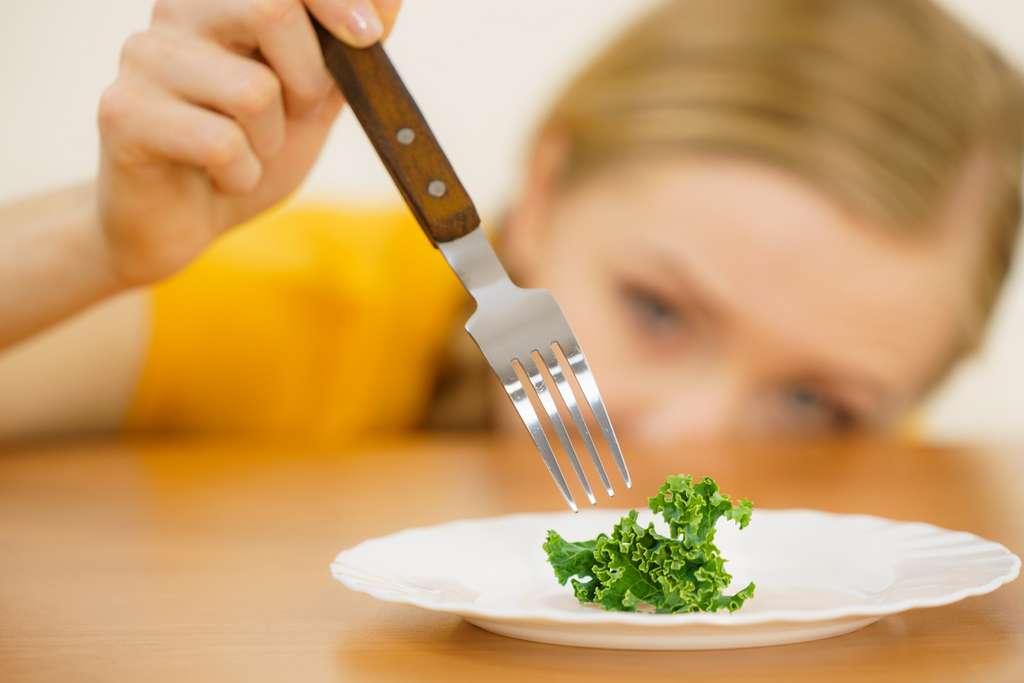 La personne orthorexique s'impose des restrictions alimentaires strictes. © Voyagerix, Fotolia