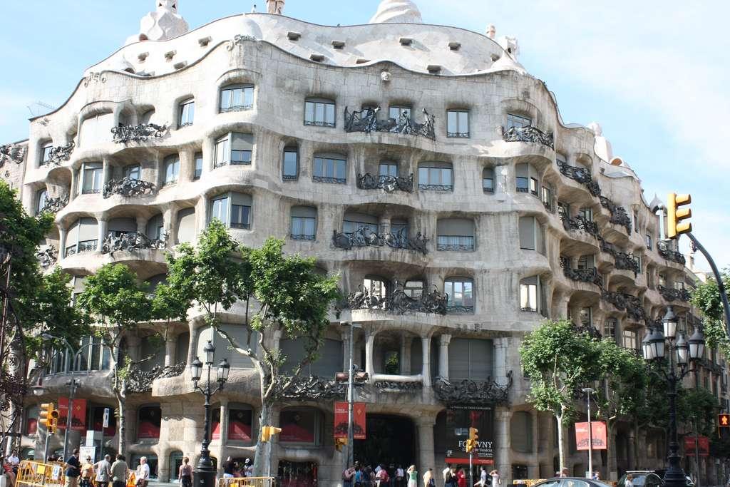 La Casa Milà à Barcelone. © Simone Russo, Flickr