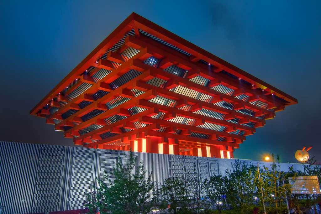 Le pavillon de la Chine de l'Exposition universelle de 2010