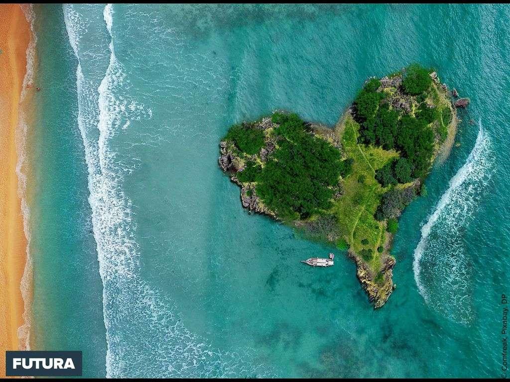 Île coeur, un paradis de tranquillité