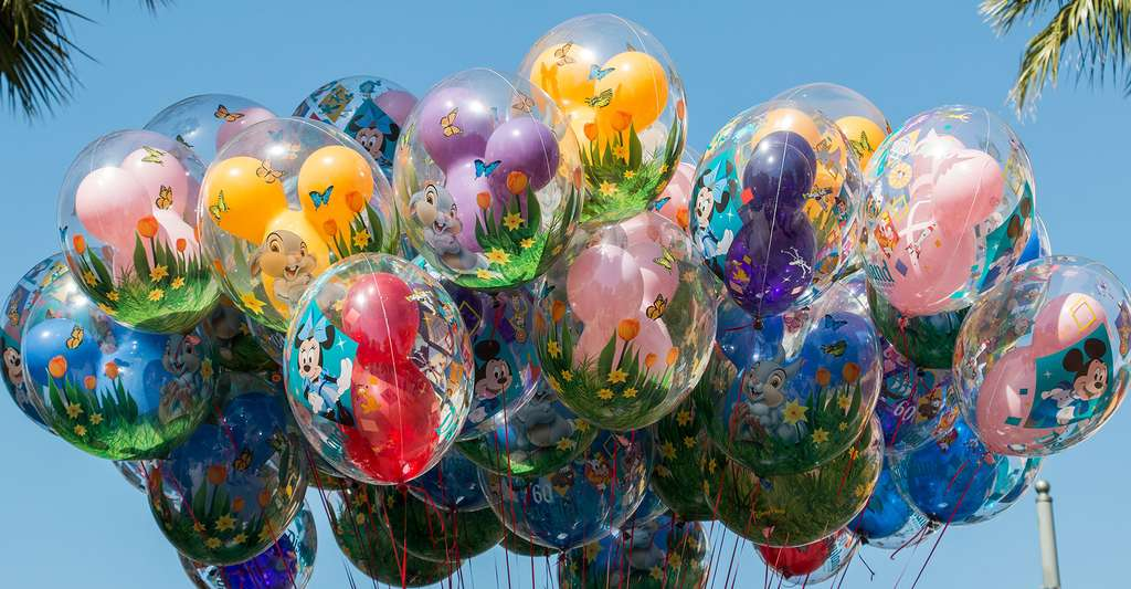 Ballons de baudruche. © HarshLight, Wikipedia, CC by 2.0