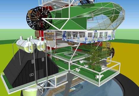 Voici un exemple du projet des fermes verticales. Cliquez pour voir la galerie complète. © TJEP (tous droits réservés)