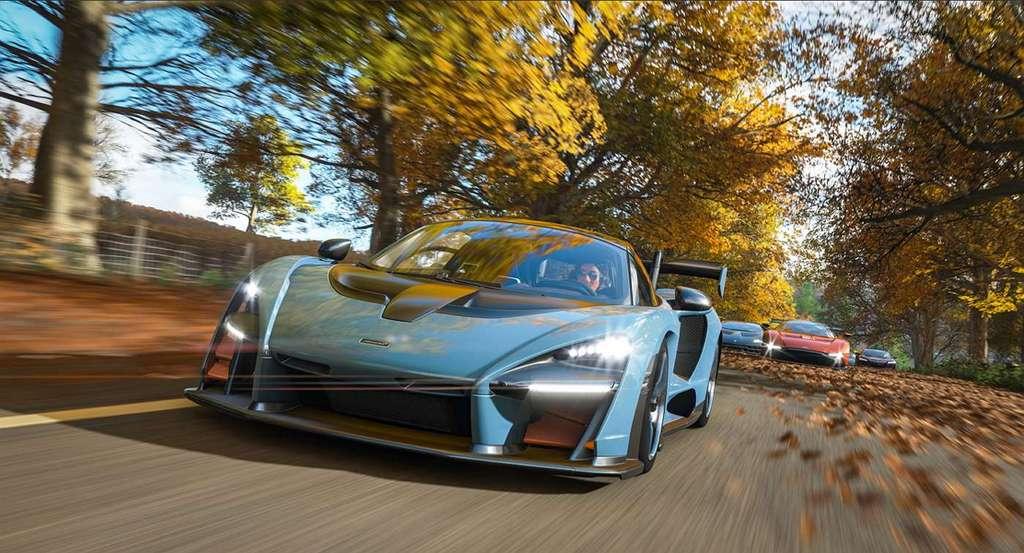 C'est sur les routes de Grande-Bretagne que les joueurs doivent montrer leur habileté dans Forza Horizon 4. © Microsoft