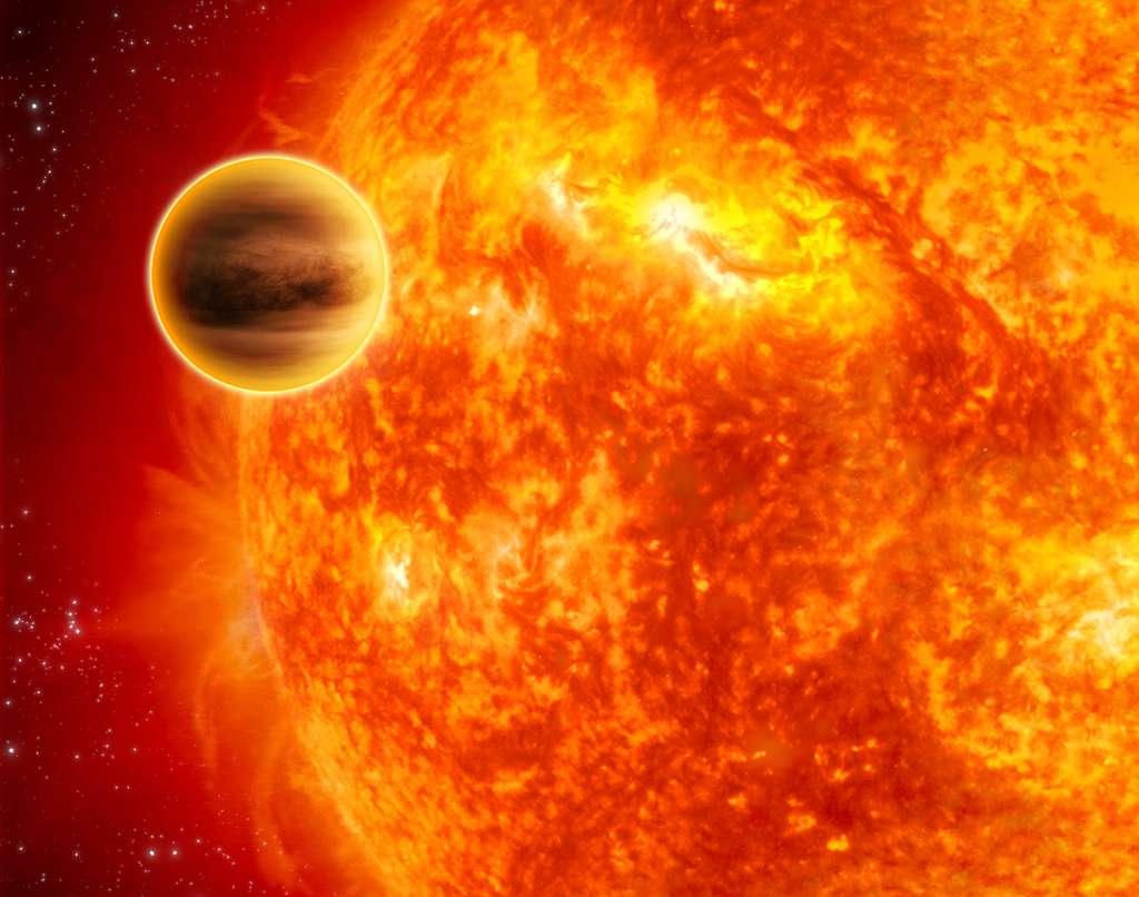 Wasp-12b, une exoplanète qui se meurt…