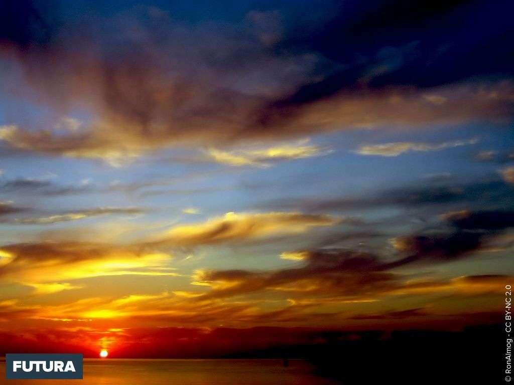 Coucher de soleil à Zebulun beach - Israel