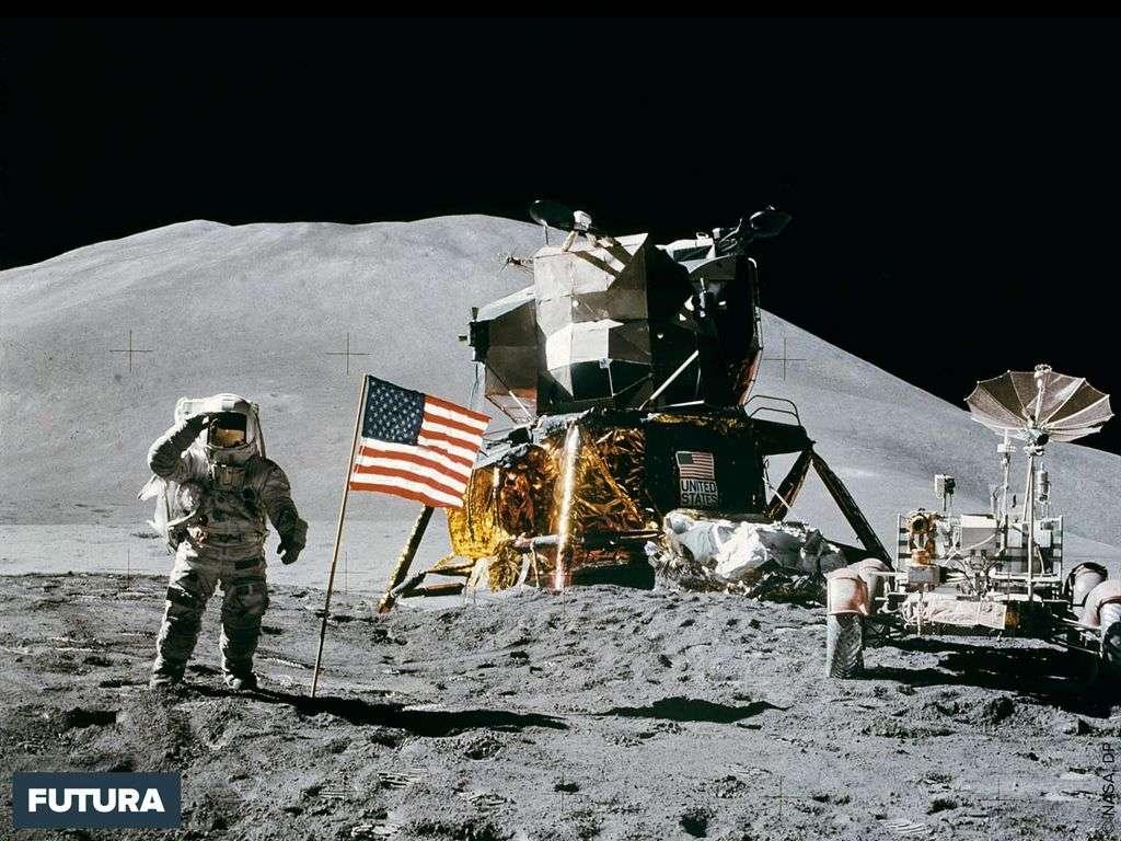 Apollo 15, Irwin pilote du module sur la Lune