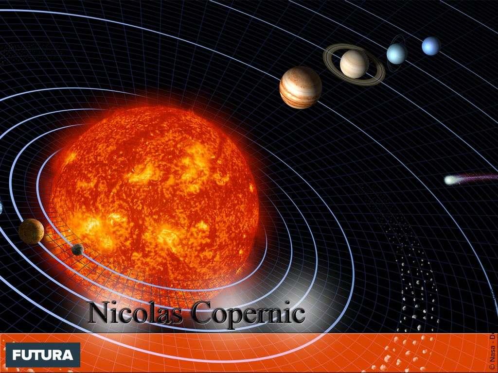 Nicolas Copernic - Système solaire