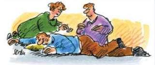 Lors d'une crise d'épilepsie, il est conseillé de placer le malade en position latérale de sécurité. © ligueepilepsie.be