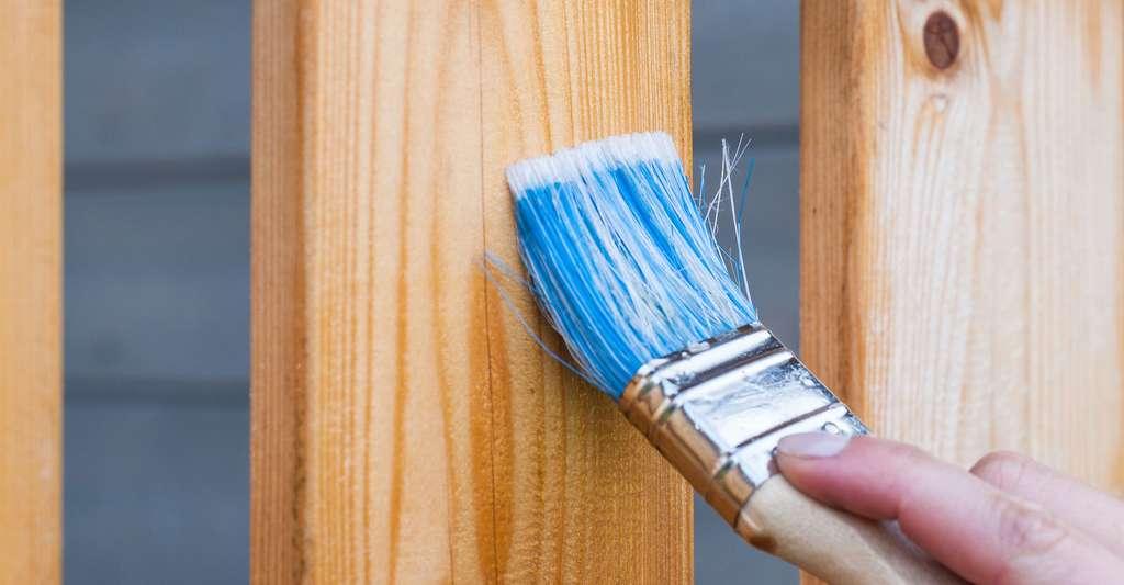 Peinture pour bois. © Artursfoto, Pixabay, DP