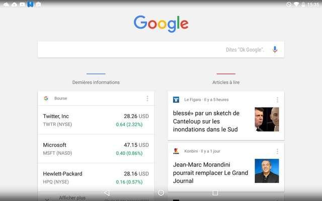L'assistant Google Now sous Android Lollipop. © Futura-Sciences