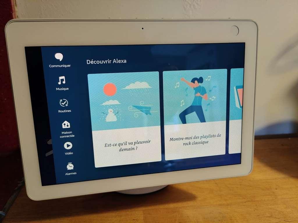 L'écran tactile donne un accès direct aux fonctions les plus utiles. Il permet aussi de découvrir les nombreuses possibilités offertes par l'appareil. © Futura