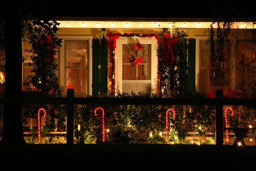 Une décoration traditionnelle de Noël