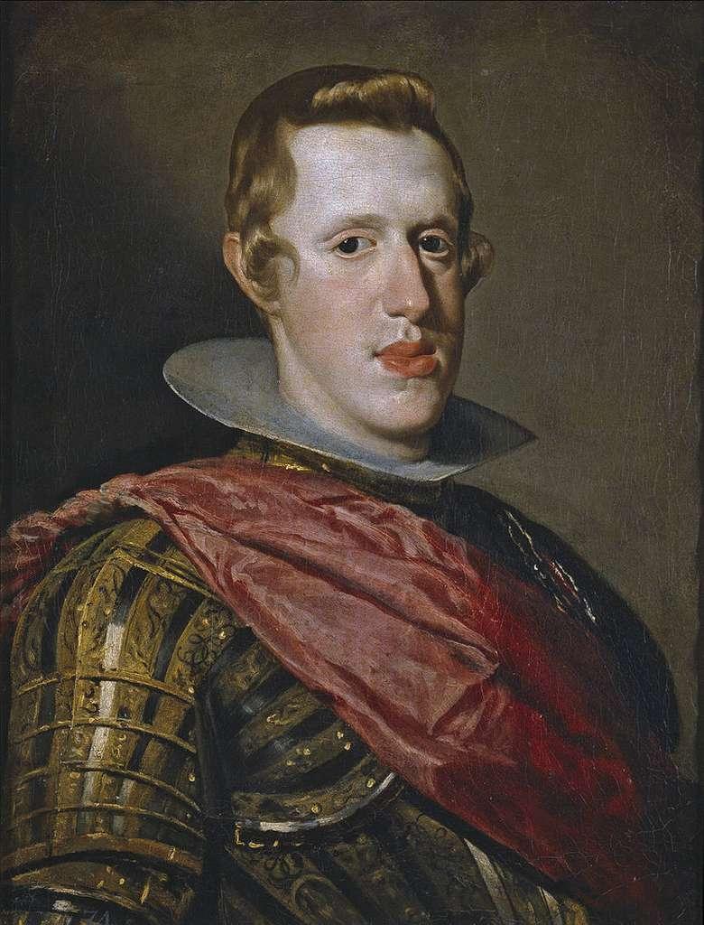 Le degré de consanguinité était particulièrement élevé dans certaines dynasties royales comme celles des Habsbourg, où les cousins et parents se mariaient entre eux (ici Philippe IV). © Diego Velásquez