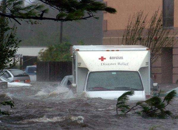 La Croix Rouge en action