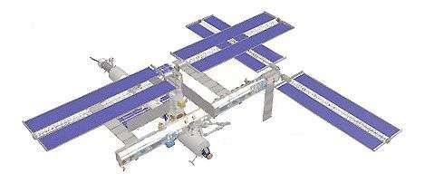 Configuration actuelle de la Station Spatiale Internationale