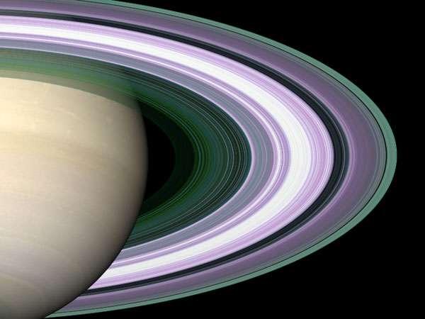 L'anneau B de Saturne