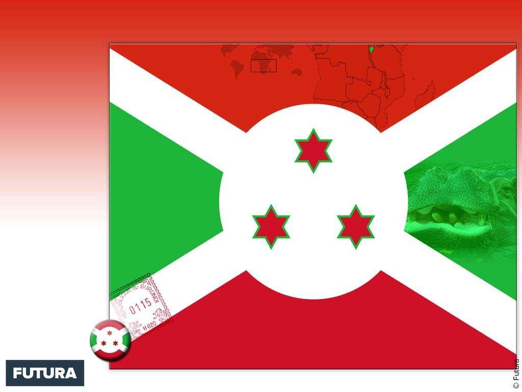 Drapeau : Burundi