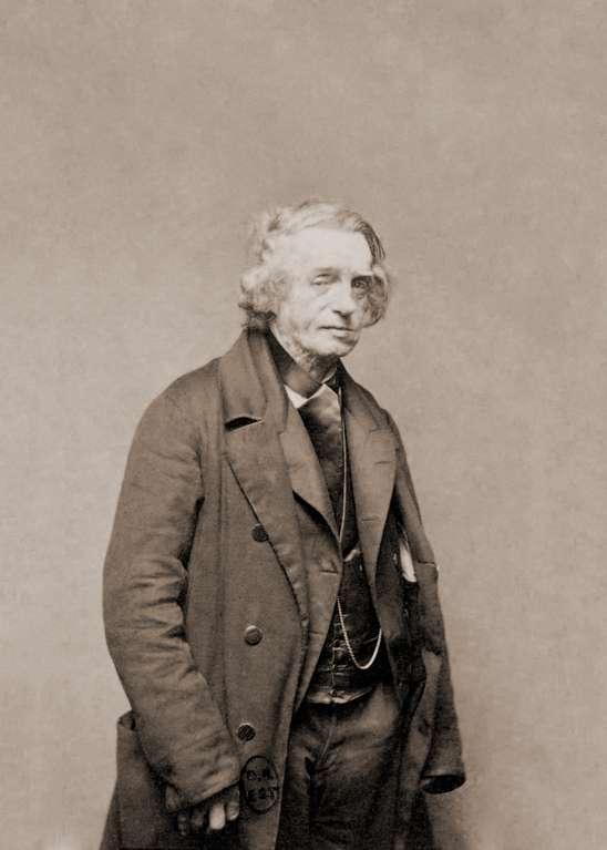 Aimé Paris est l'inventeur de la sténographie de la mémoire. © DP