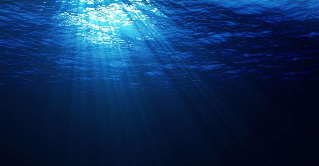 Lorsque la lumière entre dans l'eau, elle est ralentie. © vmakt, Fotolia