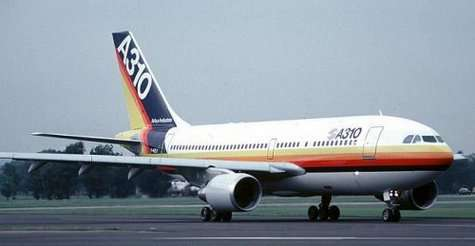 Airbus A310 Crédits : http://www.flybernhard.de