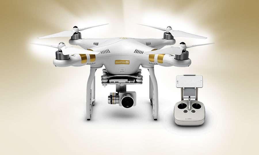 Avec des prix agressifs et une qualité notable, la gamme Phantom a fortement aidé DJI à prendre le leadership mondial du marché des drones. Apparu en 2016, le DJI Phantom 3 était déjà doté d'une autonomie de vol de 25 minutes. © DJI