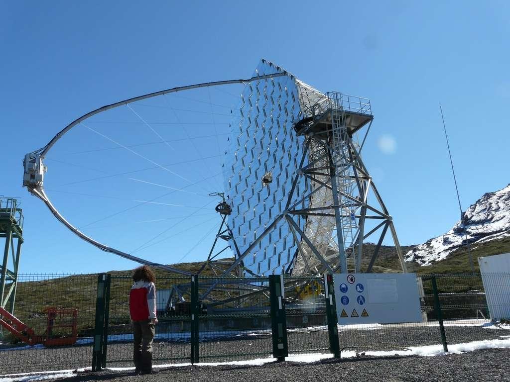 Le télescope Magic, près du GranTeCan, pour étudier les sursauts gamma