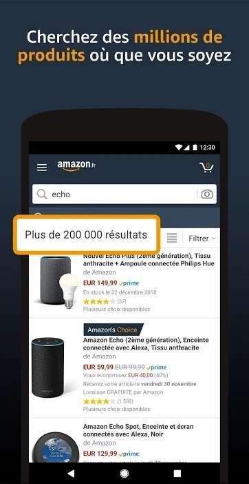 À l'origine, Amazon était spécialisé dans la librairie en ligne. L'entreprise s'est diversifiée et est maintenant la plus grande plateforme de commerce électronique dans le monde. © Amazon.com