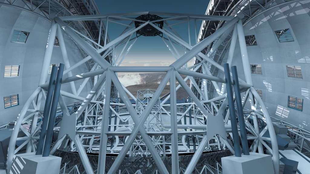la structure porteuse de l'E-ELT