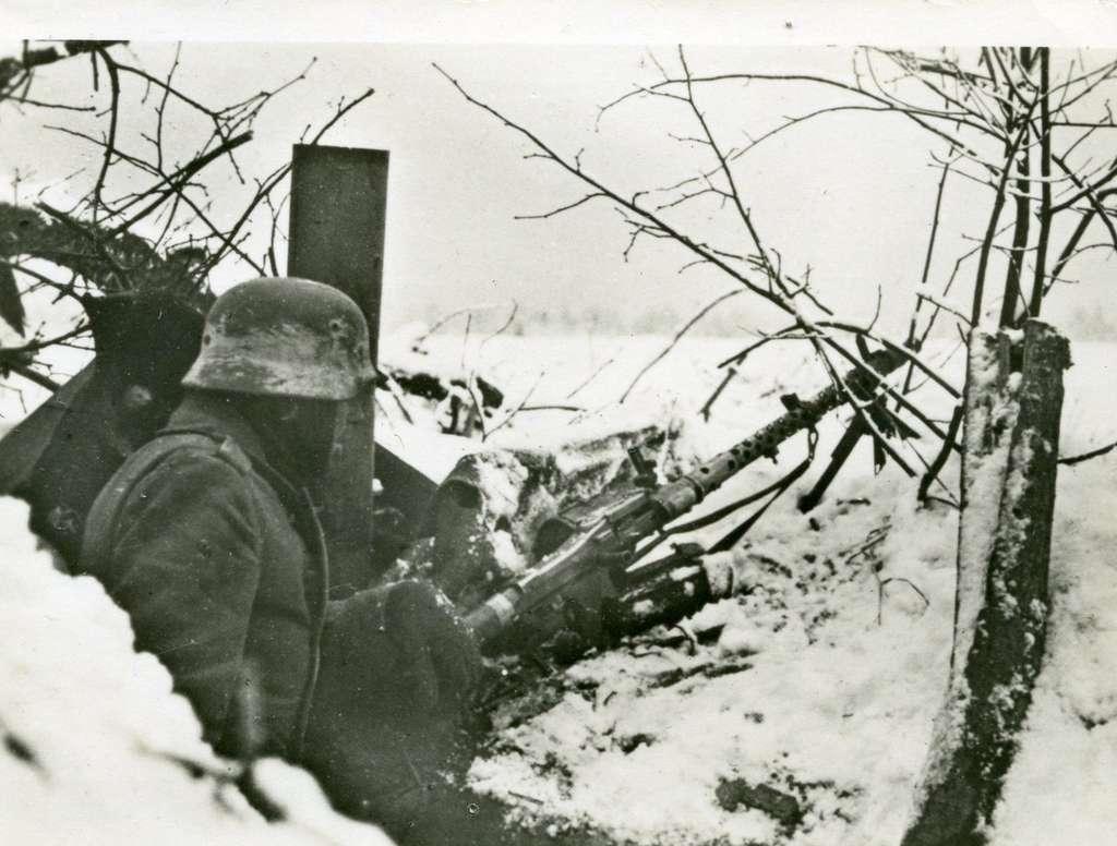L'hiver surprend l'armée allemande. © PicClick, Google Images