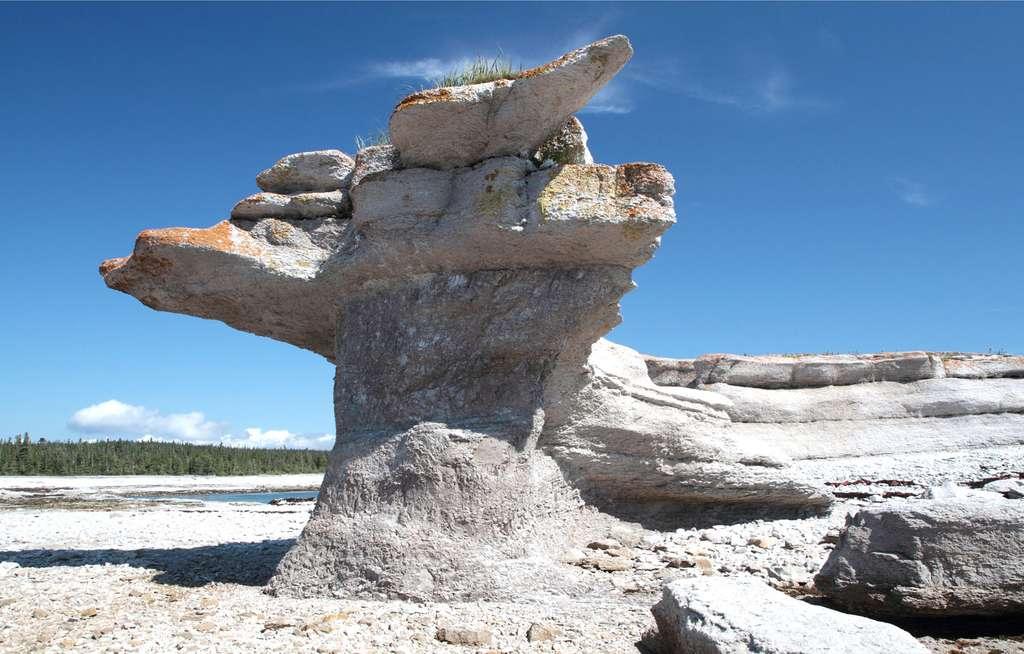Monolithes sur l'île Quarry. © Cephas, cc by sa 3.0