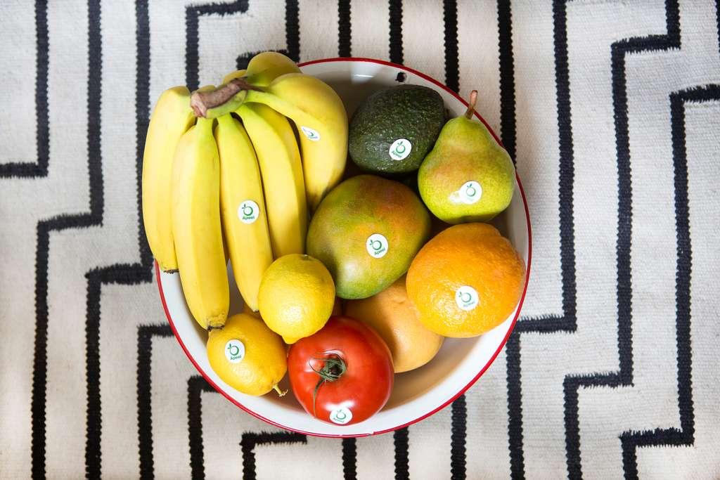 Pommes, mangues, tomates ou radis : Apeel a prouvé son efficacité sur une douzaine de fruits et légumes. © Apeel