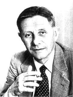Le mathématicien Heinz Hopf. Crédit : Paul Halmos