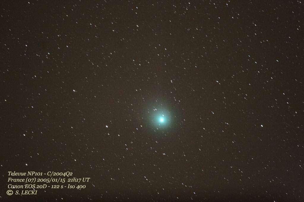 Comète C/2004 Q2 (Machholz)