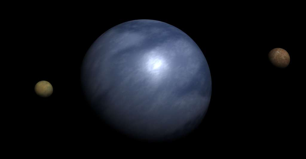 L'eau liquide dans l'univers. © Anynobody, Wikimedia commons, CC by-sa 3.