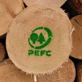 Le label PEFC garantit un papier produit à partir d'une gestion durable des forêts. © DR
