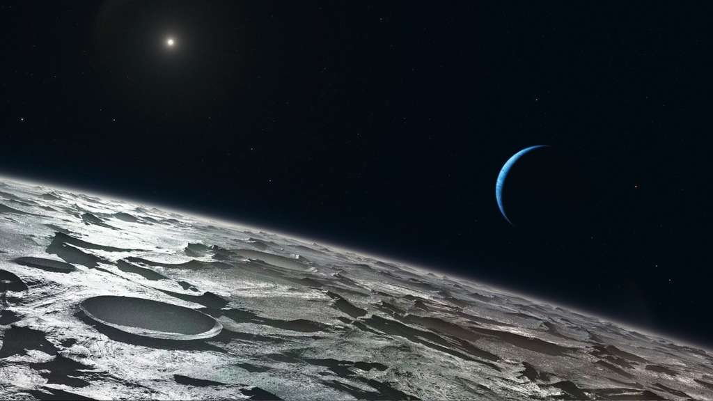 La surface de Triton