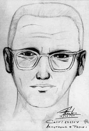 Portrait-robot du tueur du zodiaque en 1969. © San Francisco Police Department, wikimedia commons, DP