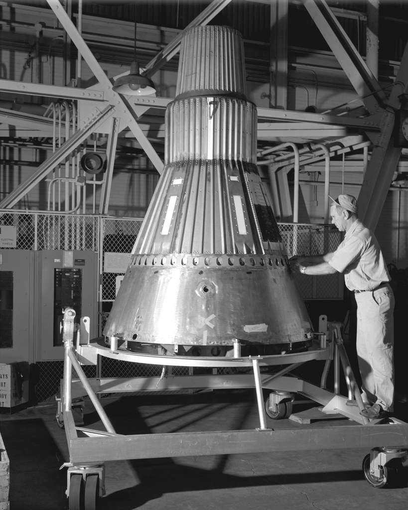 La capsule Mercury. © Nasa