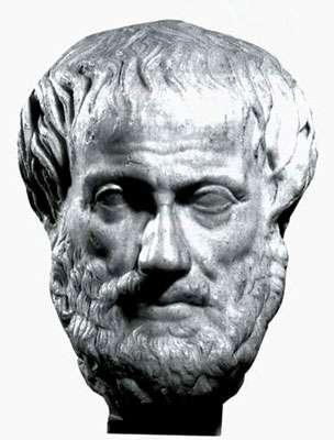 Aristote, philosophe grec.