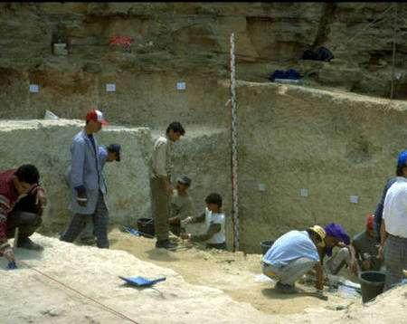 La carrière Thomas I au Maroc. Crédit : Archéo-Logis/CDERAD