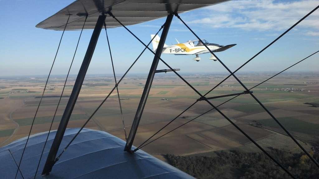 Les avions de tourisme et autres ULM utilisent eux aussi le positionnement GPS. Les procédés de leurres ou de brouillage devront en tenir compte pour éviter que certains se perdent... © Jean-Luc Goudet, Futura-Sciences