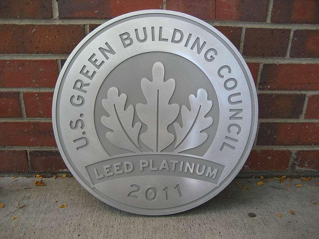 Platine, est le plus haut niveau de certification LEED.